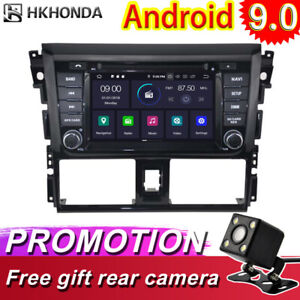 Android 9 0 Car Gps Radio Navi Stereo Video Player Wifi Bt For Toyota Yaris 2014