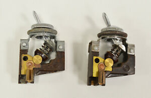 Ferrari 250 Swb California Alfa Giulietta Maserati 3500 Gt Toggle Switch Set