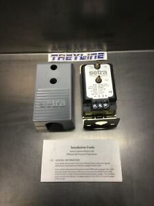 New Setra 2641025wd11a1d Differential Pressure Switch Dpt2641 025d 17e 4