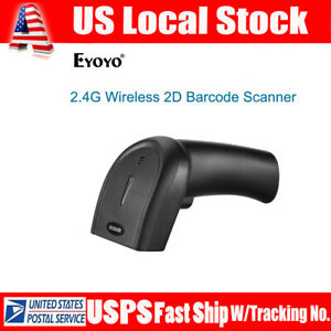 Eyoyo Bluetooth 2 4g Wireless Wired 2d Qr Barcode Scanner For Ipad Windows