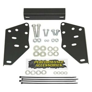 Performance Accessories Rear Hitch Bumper Bracket Kit