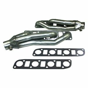 For Nissan Titan 17 19 Exhaust Headers Cat4ward Stainless Steel Natural Short