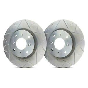 For Audi 80 Quattro 88 92 Sp Performance Peak Slotted 1 Piece Front Brake Rotors