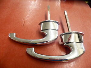 1949 1950 Chrysler Town And Country Woodie Door Handle Pair Re Plated