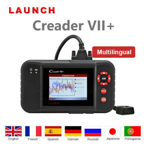 Launch X431 Diagnostic Scanner Obdii Code Reader Abs Srs At Ecu As Crp123 123e