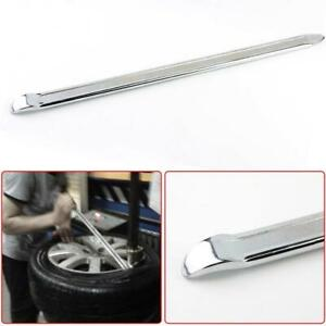 2 Two Forged Steel Curved 12 Tire Iron Pry Bar Auto Car Motorcycle Bike Change