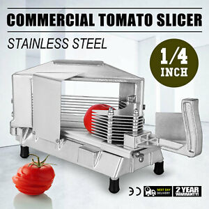 Commercial Fruit Tomato Slicer 1 4 cutting Equipment Sharp Restaurant