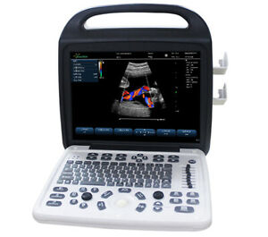 Color Doppler Portable Ultrasound Scanners Ec 800