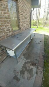 Stainless Steel Prep Tables