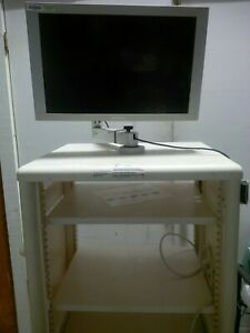 Stryker 240 097 002 Endoscopy Mobile Video Cart Tower With Sony Monitor Miami