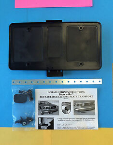Roush 400u Hide Away Show N Go Retractable License Plate Mustang Altec