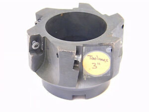 Reconditioned Toolmex 3 Carbide Insert Indexable Face Mill 6 955 030 Apkt 1604