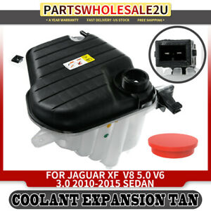 Radiator Overflow Coolant Tank W Sensor For Jaguar Xf V8 5l 2010 2015 C2z29118