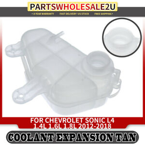 Pressurized Coolant Reservoir W O Cap For Chevrolet Sonic 2012 2019 Front 603386