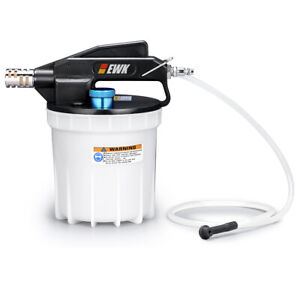 Ewk 2 Liter Pneumatic Vacuum Brake Bleeder Oil Fluid Hydraulic Extractor Pump