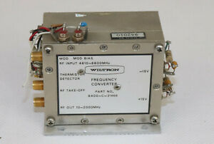 Wiltron 6400 c 31466 Frequency Converter Output 10 2000mhz Input 4610 6600mhz