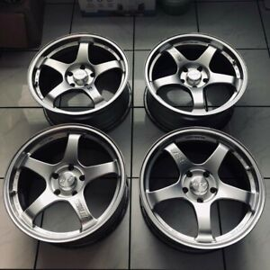 Ssr Gt 2 H 18x9 Offset 45 5x100 Speed Star No 041005 Jdm Import Made In Japan