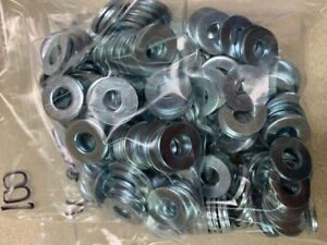 1 4 Bolt Size Sae Washer Bright Zinc Plated 100pc