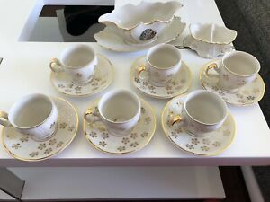 Madonna Porcelain Coffee Tea Set