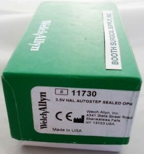 Welch Allyn 11730 3 5v Autostep Coaxial Ophthalmoscope New sealed