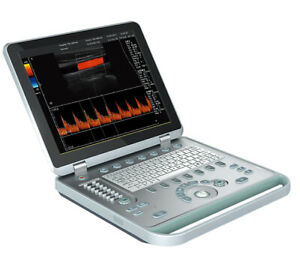Color Doppler Portable Ultrasound Scanners Convex Probe Transducers