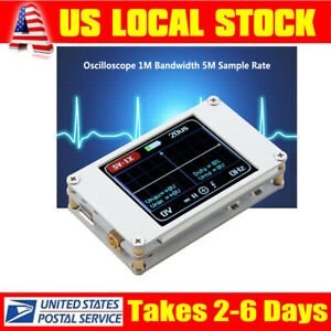 Dso188 Portable Mini Digital Storage Oscilloscope 1mhz Bandwidth 5m Sample Rate