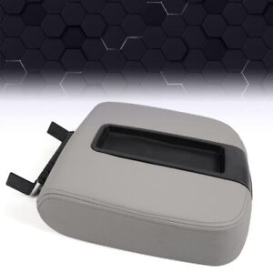 Front Center Console Armrest Lid Assembly For Chevy Gmc Silverado Sierra 2500hd