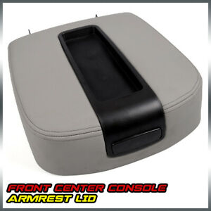 Front Center Console Armrest Lid Assembly Fit For Gmc Silverado Sierra 2500hd Fits Gmc