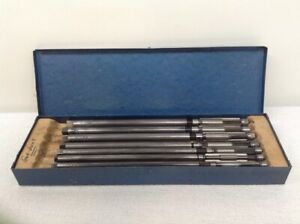 Blue Point Usa 7 Pc Vintage Critchley Adjustable Expansion Reamers Pilots