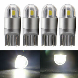 4x Osram T10 W5w 168 2smd Led 6000k Car Interior Reading Light 12v Dc White Lamp