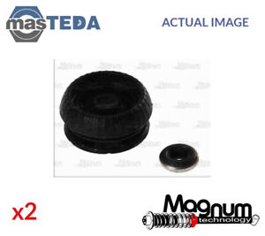 2x Front Top Strut Mounting Cushion Set Magnum Technology A7g020mt I New