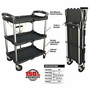 85 188 Collapsible Service Cart Home Improvement