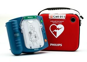 2019 Philips Heartstart Onsite M5066a Aed Hs1 2022 Battery 7 Year Warranty