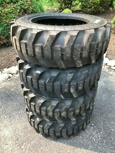 4 27x8 50 15 Hd Skid Steer Tires 27 8 50 15 Galaxy Xd2010 for Case