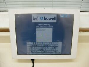 Bell Howell Jetvision Machine Vision System Mail Sorter Controller Screen Used