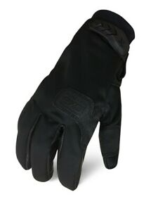 Ironclad Exot sins Tactical Stealth Leather Insulated Gloves lg 1 Pair free Ship