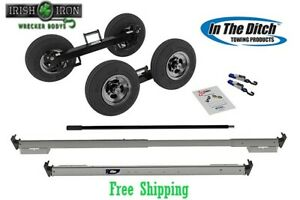 Tow Dolly Itd2878 Greasable Hub Wrecker Rollback Tow Truck