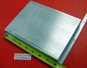 10 Pieces 1 X 6 Aluminum 6061 T6511 Solid Flat Bar 8 Long Plate Mill Stock