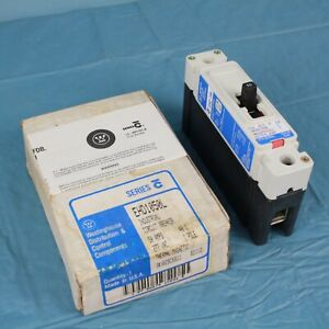 Westinghouse 50a 1 pole Industrial Circuit Breaker Thermal Magnetic Usa Made Nos