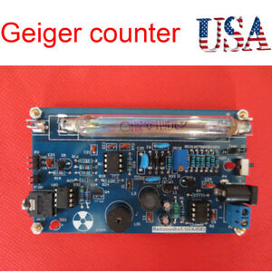 Assembled Diy Geiger Counter Nuclear Radiation Detector Beta Gamma Ray Arduino