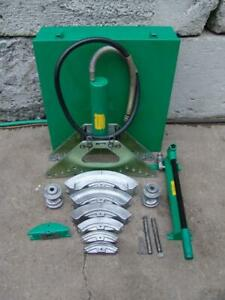 Greenlee 880 1 1 1 4 1 1 2 And 2 Rigid Conduit Bender Hydraulic Pump 3