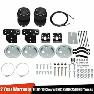 For 01 10 Chevy 2500 Towing Assist Over Load Air Bag Suspension Lift Kit No Dril