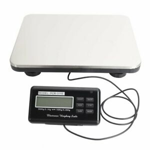Digital Shipping Scale Postal Parcel Scale 660 Lbs Capacity W Ac Adapter