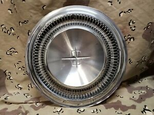 1967 1968 1969 Lincoln Continental Hubcap 15 Wheel Cover Oem