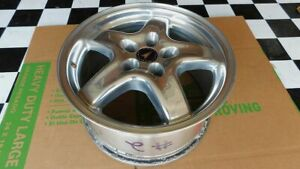 Trans Am Ws6 Wheel 17x9 Polished Speedline Wheel With Center Cap Used