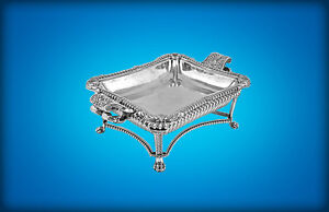 A George Iii Paul Storr Silver Entree Dish 1 2 1st Marquess Of Ormonde