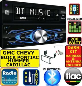 01 12 Chevy Gmc Truck Van Suv Bluetooth Usb Aux Am Fm Car Radio Stereo Package