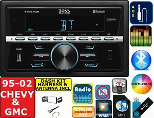 95 02 Gm Truck suv Bluetooth Car Radio Stereo Usb Aux Package