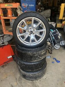 19 Ford Mustang Bright Chrome Wheels Rims Factory Oem Set 4