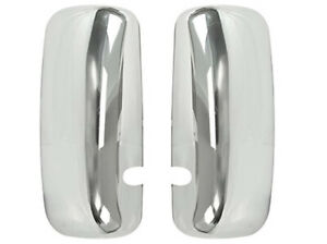 For Kenworth T600 T660 Left Driver Right Passenger Chrome Door Mirror Covers